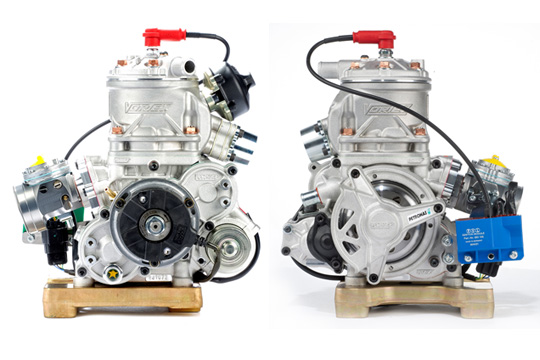 VORTEX KFエンジン RKF x2機