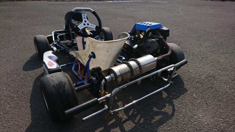 VANSPEED カデットシャーシ スバルエンジン付き